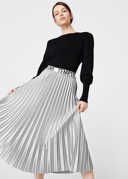 05c2ccbfa2 Cómo combinar las faldas largas de fiesta