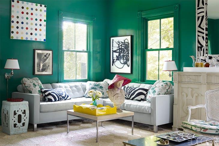 Descubre Los 5 Colores De Moda Para Paredes - Colores-de-moda-para-paredes