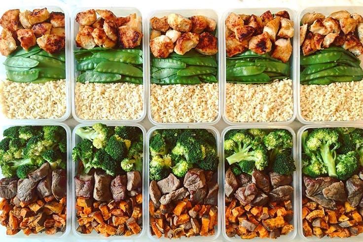 plan de comida sana para una semana