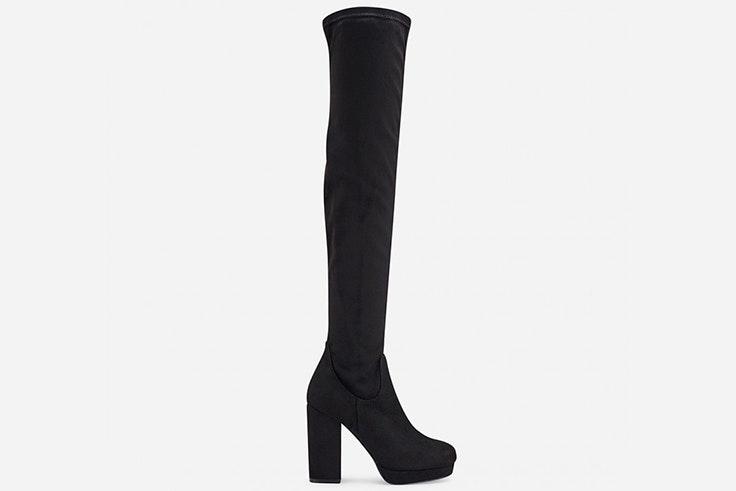 Botas altas en color negro de Marypaz